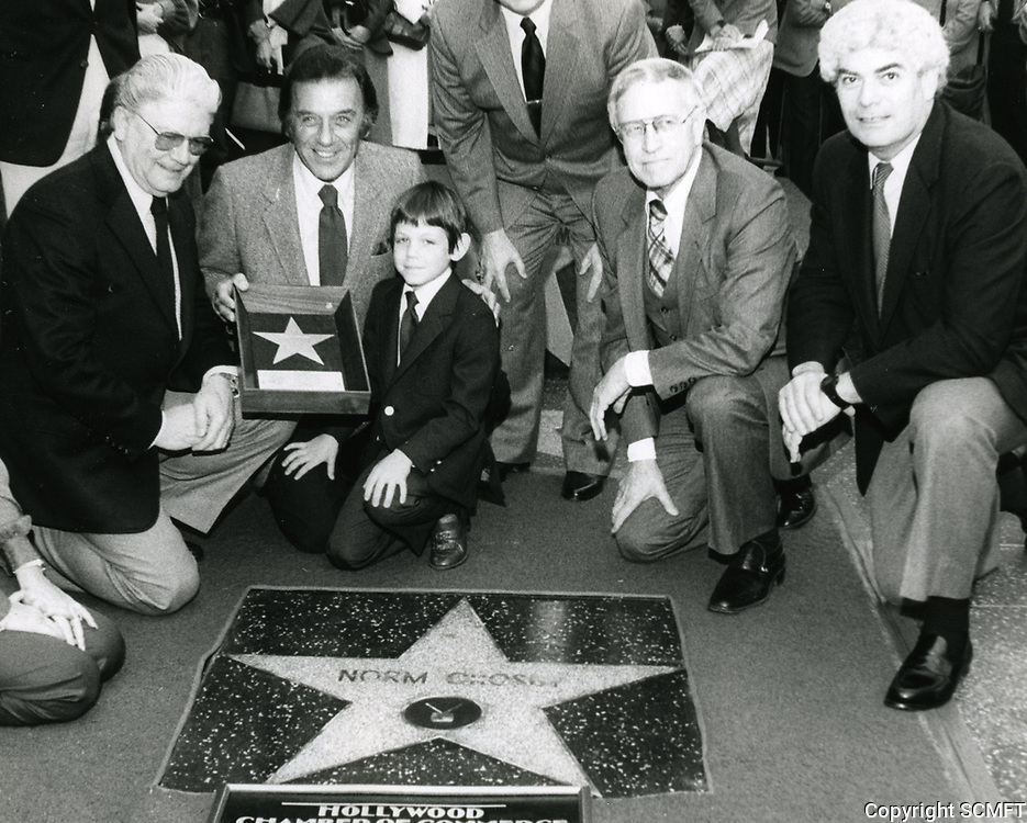 1982 Norm Crosby's Walk of Fame ceremony