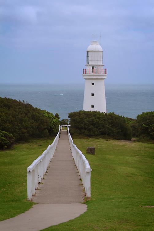 The Cape Otway Lighthouse, Cape Otway, Victoria, VIC, Australia