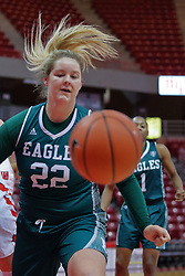 10 December 2017: Corrione Cardwell during an College Women's Basketball game between Illinois State University Redbirds and the Eagles of Eastern Michigan at Redbird Arena in Normal Illinois.