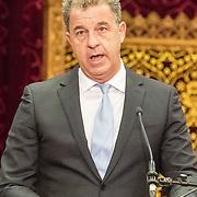 NLD/Den Haag/20171221 - Koning bij sluitingsceremonie Joegoslavie tribunaal, Serge Brammertz