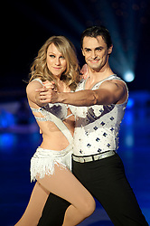 Dancing on Ice Photocall Sheffield Motorpoint Arena .Michael Zenezini and Chloe Madeley..7 April 2011.Images © Paul David Drabble