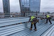 Level 15, Bankside Yards West, Multiplex Construction Site. Southwark. London.