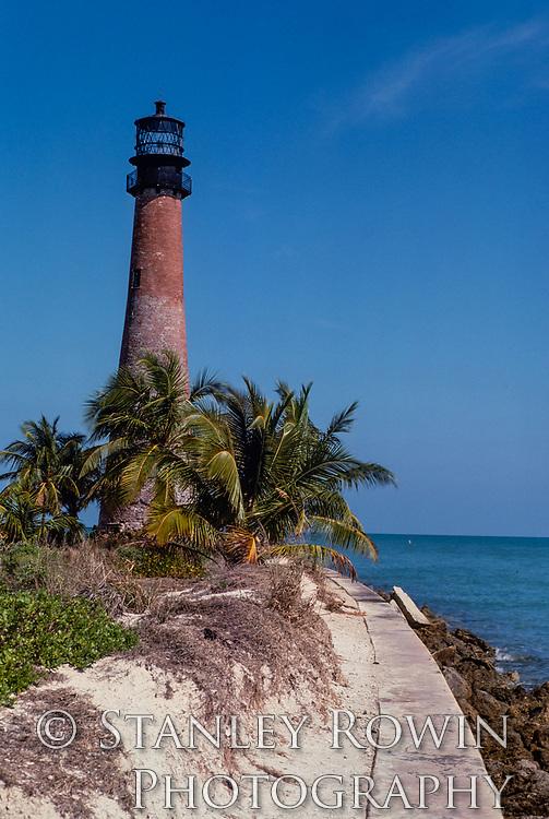 Cape Florida Lighthouse; Key Biscane;  Miami Beach