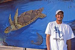 Artist & His Mural