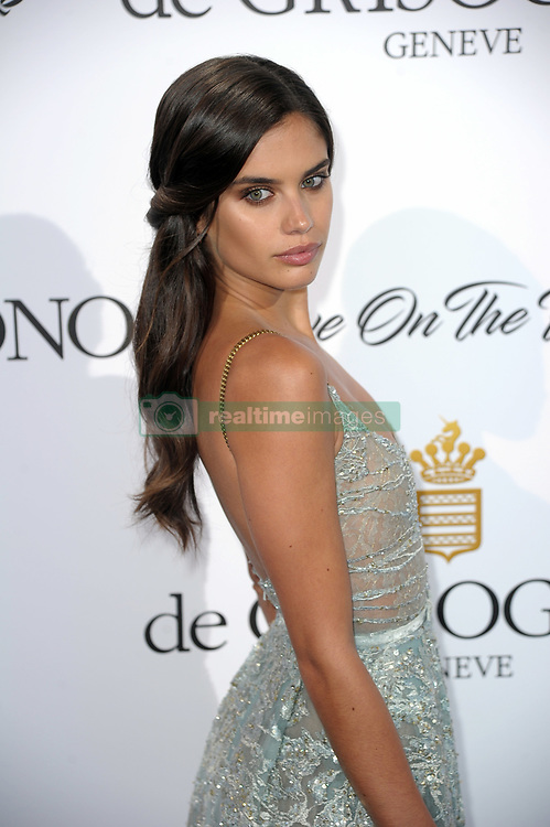 """DeGrisogono """"Love On The Rocks"""" Party - The 70th Annual Cannes Film Festival. 24 May 2017 Pictured: Sara Sampaio. Photo credit: kilmax / MEGA TheMegaAgency.com +1 888 505 6342"""