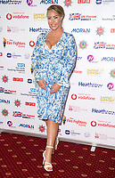 Danielle Mason at the Sapper Support celebrity charity event for the launch of their brand-new PTSD support lanyard at The Army & Navy Club, London