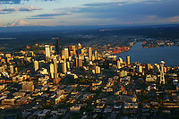 Mount Rainier & City of Seattle