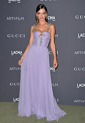 Alessandra Ambrosio attends the 2016 LACMA Art + Film Gala honoring Robert Irwin and Kathryn Bigelow presented by Gucci at LACMA on October 29, 2016 in Los Angeles, California. Photo by Lionel Hahn/AbacaUsa.com