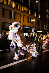 California: San Francisco. Dragon in Chinese New Year's Parade. Photo copyright Lee Foster. Photo # 29-casanf77709