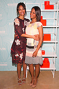 Zoe Saldana, and sister Cicely