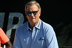 September 20, 2018 - Atlanta, GA, U.S. - ATLANTA, GA - SEPTEMBER 20: Peter Jacobsen looks on before the first round of the PGA Tour Championship on September 20, 2018, at East Lake Golf Club in Atlanta, GA. (Photo by Michael Wade/Icon Sportswire) (Credit Image: © Michael Wade/Icon SMI via ZUMA Press)
