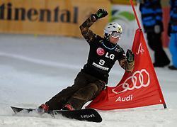 10-10-2010 SNOWBOARDEN: LG FIS WORLDCUP: LANDGRAAF<br /> First World Cup parallel slalom of the season / FLANDER Rok SLO<br /> ©2010-WWW.FOTOHOOGENDOORN.NL