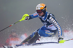 06.01.2013, Crveni Spust, Zagreb, CRO, FIS Ski Alpin Weltcup, Slalom, Herren, 1. Lauf, im Bild Markus Larsson (SWE) // Markus Larsson of Sweden in action // during 1st Run of the mens Slalom of the FIS ski alpine world cup at Crveni Spust course in Zagreb, Croatia on 2013/01/06. EXPA Pictures © 2013, PhotoCredit: EXPA/ Pixsell/ Sanjin Strukic..***** ATTENTION - for AUT, SLO, SUI, ITA, FRA only *****