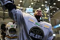 GET-ligaen Ice Hockey, 27. october 2016 ,  Stavanger Oilers v Stjernen<br /> Ruben Smith fra Stavanger Oilers etter kampen mot Stjernen<br /> Foto: Andrew Halseid Budd , Digitalsport