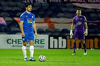 Ash Palmer. Stockport County FC 0-0 Notts County FC. Vanarama National League. Edgeley Park. 23.2.21