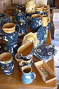 gift and souvenir shop ceramic pots dom g humbrecht pfaffenheim alsace france