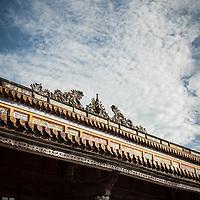 Forbidden City in Hue, Vietnam.