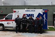 AMR Ambulance at A's Training Stadium
