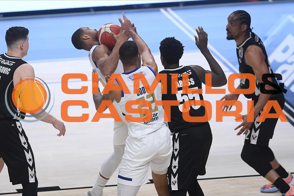 Bostic Joshua<br /> Segafredo Virtus Bologna - Happy Casa Brindisi<br /> Semifinali - Gara 3<br /> Legabasket Serie A UnipolSAI 2020/2021<br /> Bologna, 02/06/2021<br /> Foto GiulioCiamillo / Ciamillo