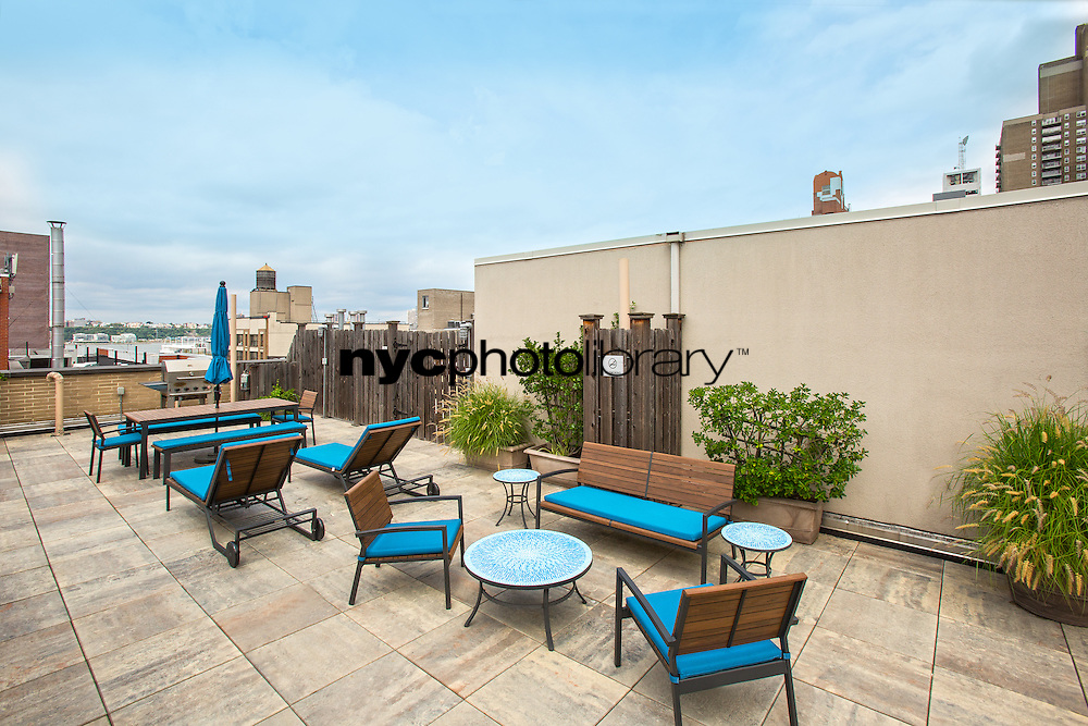 Roof Deck at 505 West 47th Street
