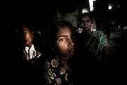 Christian refugees at YMCA relief comittee  in Orissa's capital Bhubaneswar. .Nov. 04, 2008.