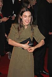 Tallulah Harlech, The British Fashion Awards 2014, The London Coliseum, London UK, 01 December 2014, Photo By Brett D. Cove © Licensed to London News Pictures. 02/12/2014. Brett D Cove/PIQ/LNP