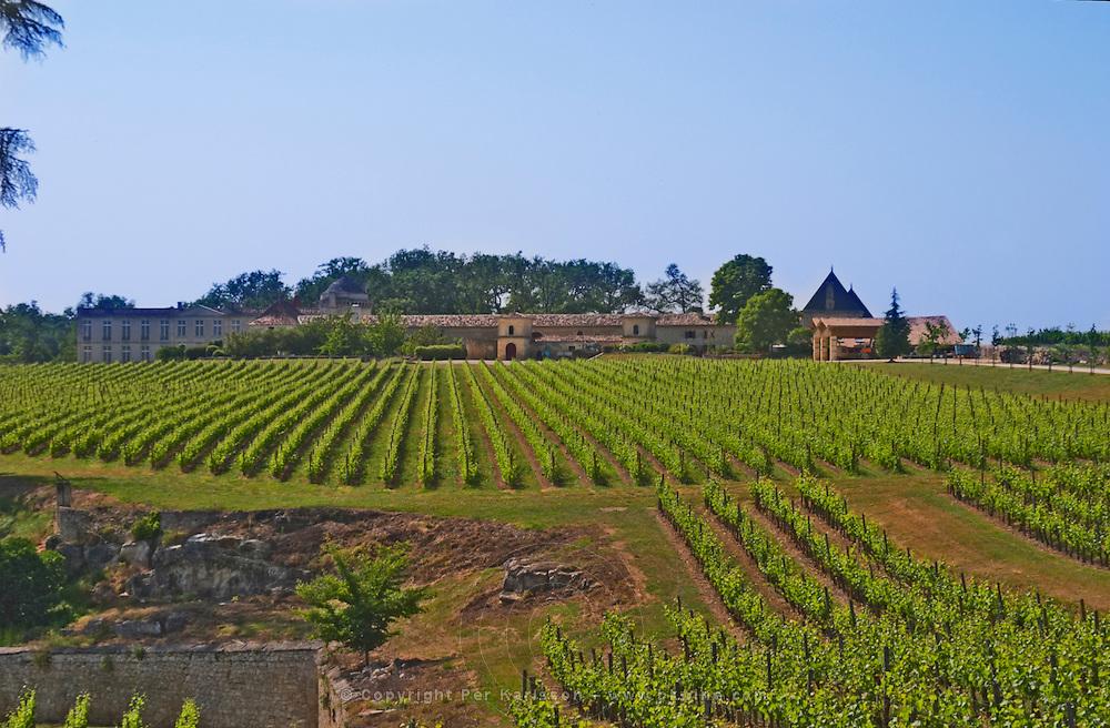 Troplong Mondot? Do you know what this chateau is?? Saint Emilion Bordeaux Gironde Aquitaine France UNK