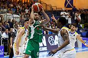 Fitipaldo Bruno<br /> Betaland Capo d'Orlando - Sidigas Avellino <br /> Campionato Basket Lega A 2017-18 <br /> Capo d'Orlando 22/04/2018<br /> Foto Ciamillo-Castoria