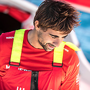 Leg 01, Alicante to Lisbon, day 06, on board MAPFRE. Photo by Ugo Fonolla/Volvo Ocean Race. 28 October, 2017