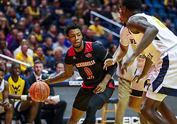 Dec 22, 2018; Morgantown, WV, USA; Jacksonville State Gamecocks guard Jamall Gregory (0) drives baseline during the first half against the West Virginia Mountaineers at WVU Coliseum. Mandatory Credit: Ben Queen-USA TODAY Sports