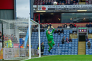 Free kick from Barnsley forward Mamadou Thiam (26) goes high over the bar during the The FA Cup 3rd round match between Burnley and Barnsley at Turf Moor, Burnley, England on 5 January 2019.