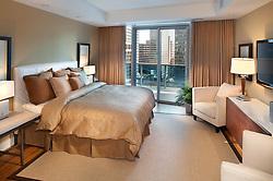 1881 Nash, Arlington, Virginia Turnberry Tower condominiums Master Bedroom