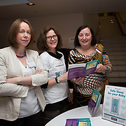 23.05.2018.       <br /> Today, the Institute of Community Health Nursing (ICHN) hosted its2018 community nurseawards in association withHome Instead Senior Care,at its annual nursing conference, in the Strand Hotel Limerick, rewarding public health nurses for their dedication to community care across the country. <br /> <br /> Pictured at the event were, Niamh Quinn, HSE, Beenery Rickard, HSE/Lenus and Joyce Moore, National Paediatric Register Childrens University Hospital Temple Street Dublin. Picture: Alan Place