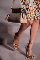 Heidi Verster walks the runway  at the Christian Dior Cruise Collection 2008 Fashion Show