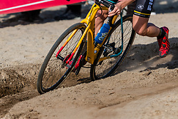 Trek CX bike during the Men Elite race at the 2018 Telenet Superprestige Cyclo-cross #1 Gieten, UCI Class 1, Gieten, Drenthe, The Netherlands, 14 October 2018. Photo by Pim Nijland / PelotonPhotos.com   All photos usage must carry mandatory copyright credit (Peloton Photos   Pim Nijland)