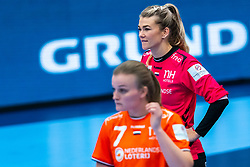 Tess Wester of Netherlands after the Women's EHF Euro 2020 match between Netherlands and Norway at Sydbank Arena on december 10, 2020 in Kolding, Denmark (Photo by RHF Agency/Ronald Hoogendoorn)