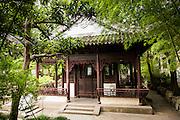 Traditional Pavilion in Yu Yuan Gardens Shanghai, China