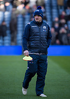 EDINBURGH, SCOTLAND - FEBRUARY 11: A pensive Scotland Coach, Gregor Townsend during the NatWest Six Nations match between Scotland and France at Murrayfield on February 11, 2018 in Edinburgh, Scotland. (Photo by MB Media/Getty Images)
