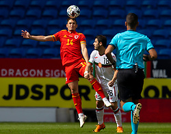 CARDIFF, WALES - Sunday, September 6, 2020: Wales' Connor Roberts during the UEFA Nations League Group Stage League B Group 4 match between Wales and Bulgaria at the Cardiff City Stadium. (Pic by David Rawcliffe/Propaganda)