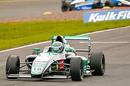 Reema Juffali(SAU) Double R Racing during the FIA Formula 4 British Championship at Knockhill Racing Circuit, Dunfermline, Scotland on 15 September 2019.