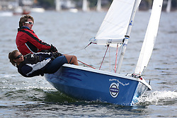 Peelport Clydeport, Largs Regatta Week 2014 Largs Sailing Club based at  Largs Yacht Haven with support from the Scottish Sailing Institute & Cumbrae.<br /> <br /> Fast Handicap , RS 200, 1281, Neil Manderson, Alice Meaden
