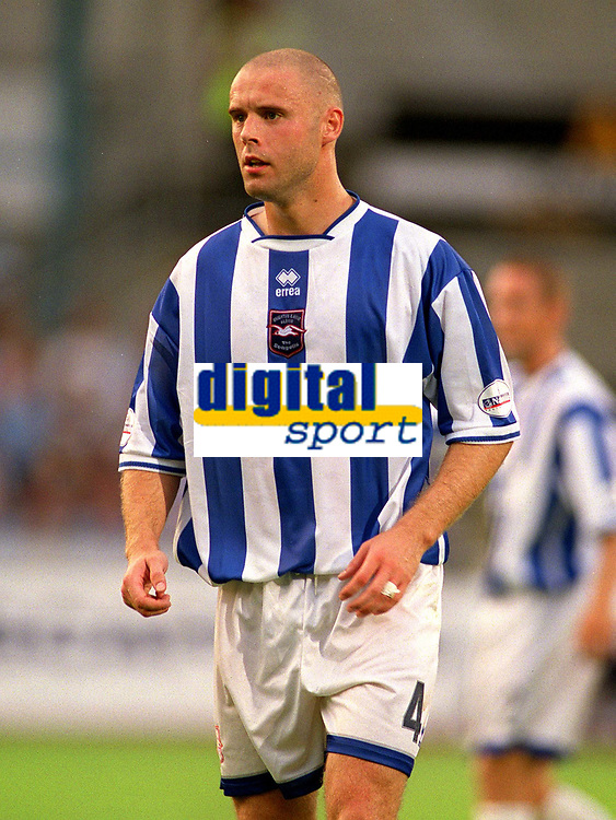 Danny Cullip (Brighton) Brighton & Hove Albion v Leicester City. 4/8/2003. Pre Season friendly match. Credit : Colorsport/Andrew Cowie.