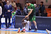 Zerini Andrea, Scott Durand<br /> Enel Brindisi - Sidigas Avellino<br /> BASKET Serie A 2016 <br /> Brindisi 26/03/2017<br /> FOTO CIAMILLO / M.Longo