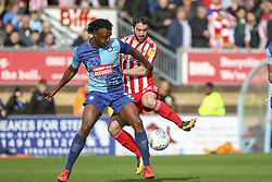 March 9, 2019 - High Wycombe, Buckinghamshire, United Kingdom - Sunderlands Will Griggg tussles for the ball during the Sky Bet League 1 match between Wycombe Wanderers and Sunderland at Adams Park, High Wycombe, England  on Saturday 9th March 2019. (Credit Image: © Mi News/NurPhoto via ZUMA Press)