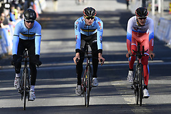 September 16, 2017 - Bergen, Norway - BERGEN, NORWAY - SEPTEMBER 16 : Senne LEYSEN and Nathan VAN HOOYDONCK pictured during the reconnaisance of the Team Time Trial 2017 World Road Championship cycling race on September 16, 2017 in Bergen, Norway, 16/09/2017 (Credit Image: © Panoramic via ZUMA Press)