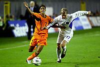 Fotball<br /> EM-kvalifisering<br /> 10.09.2003<br /> Tsjekkia v Nederland<br /> NORWAY ONLY<br /> Foto: Digitalsport<br /> <br /> michael reiziger en tomas hubschman