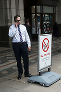 Smoking not smoking. Canary Wharf. London was the only region in England that voted to remain in the EU referendum, but the British public as a whole voted to leave. Banking is just the tip of the iceberg with many other industries also making irrevocable decisions. The damage to the economy from Brexit is already afoot — so much so that the act of leaving the EU itself is, at this point, increasingly irrelevant. Businesses are closing, uncertainty reigns. Brexit is increasingly fraught with uncertainty after the UK's parliament rejected Prime Minister Theresa May's Brexit deal many times.