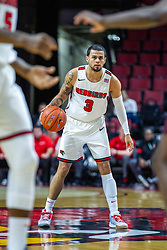 NORMAL, IL - January 07: Ricky Torres during a college basketball game between the ISU Redbirds and the University of Missouri State Bears on January 07 2020 at Redbird Arena in Normal, IL. (Photo by Alan Look)