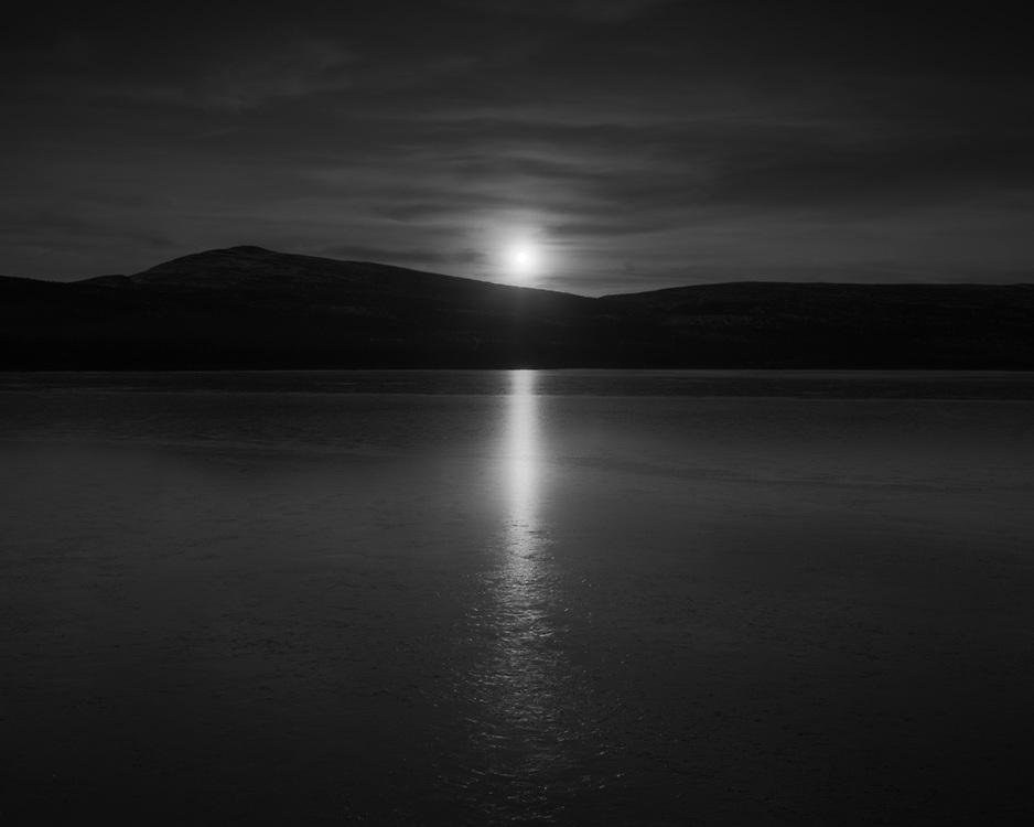 Sunrise, Fish Lake, YT