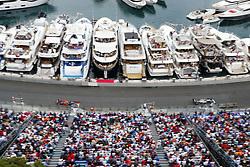 May 26, 2019 - Monte Carlo, Monaco - Motorsports: FIA Formula One World Championship 2019, Grand Prix of Monaco, ..#44 Lewis Hamilton (GBR, Mercedes AMG Petronas Motorsport), #33 Max Verstappen (NLD, Aston Martin Red Bull Racing) (Credit Image: © Hoch Zwei via ZUMA Wire)